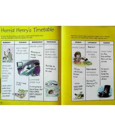 Horrid Henry Annual 2012 Inside Page 2