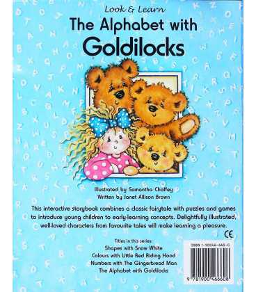 The Alphabet with Goldilocks Back Cover