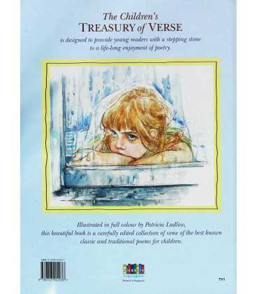 The Children's Treasury of Verse Back Cover