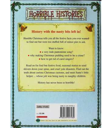 Horrible Christmas (Horrible Histories) Back Cover