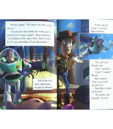 Disney's Toy Story (Disney's Wonderful World of Reading) Inside Page 1
