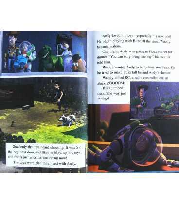 Disney's Toy Story (Disney's Wonderful World of Reading) Inside Page 2