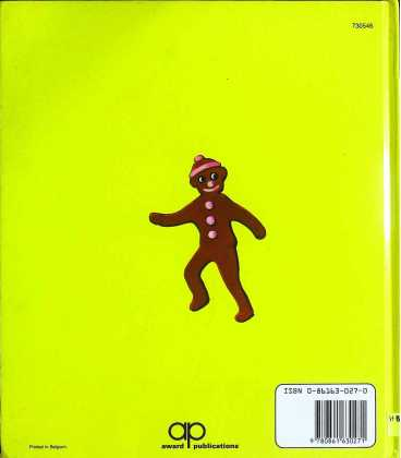 The Story of the Gingerbread Man Back Cover