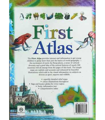First Atlas Back Cover