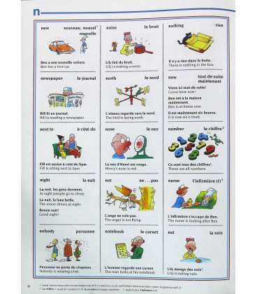 The Usborne Picture Dictionary in French Inside Page 1