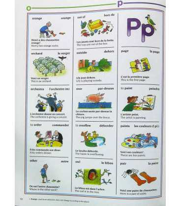 The Usborne Picture Dictionary in French Inside Page 2