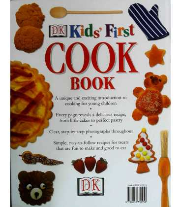 Kids' First Cookbook Back Cover