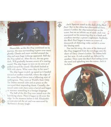 The Journey to World's End (Disney Pirates of the Caribbean At Worlds End) Inside Page 2