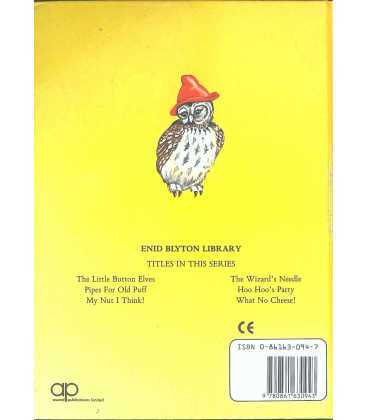 Hoo Hoo's Party Back Cover