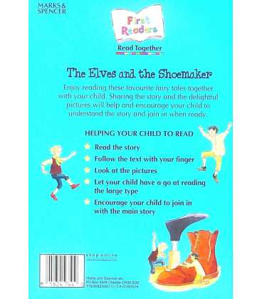 The Elves and the Shoemaker Back Cover