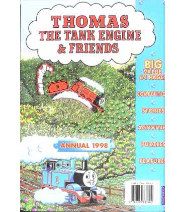 Thomas the Tank Engine and Friends 1998 Annual Back Cover