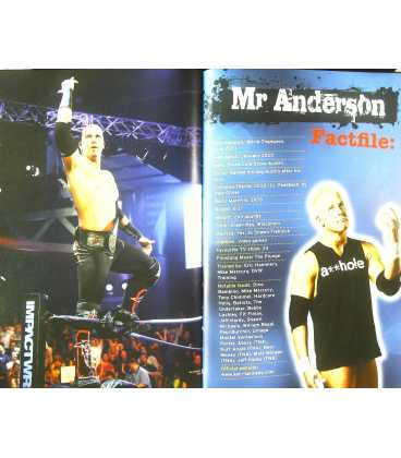Official TNA Wrestling Annual 2012 Inside Page 1