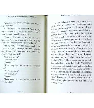The Miserable Mill/The Austere Academy/The Ensatz Elevator (A Series of Unfortunate Events) Inside Page 1