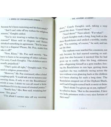 The Miserable Mill/The Austere Academy/The Ensatz Elevator (A Series of Unfortunate Events) Inside Page 2