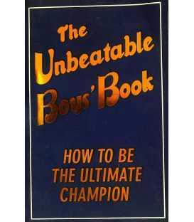 The Unbeatable Boys Book