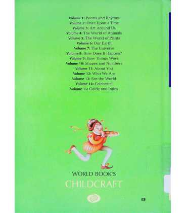 Poems and Rhymes (World Book's Childcraft) Back Cover