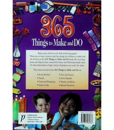 365 Things to Make and Do Back Cover