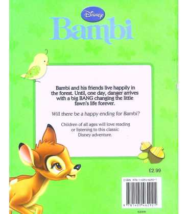 Bambi Back Cover