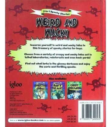 Weird and Wacky Back Cover