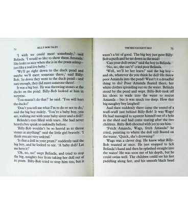 Billy-bob Tales Inside Page 1