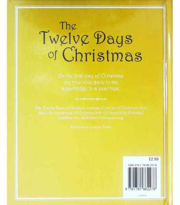 The Twelve Days Of Christmas Back Cover