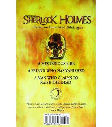 Fire Storm (Sherlock Holmes) Back Cover
