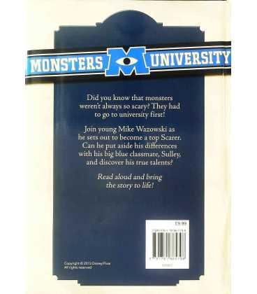 Disney Monsters University Back Cover