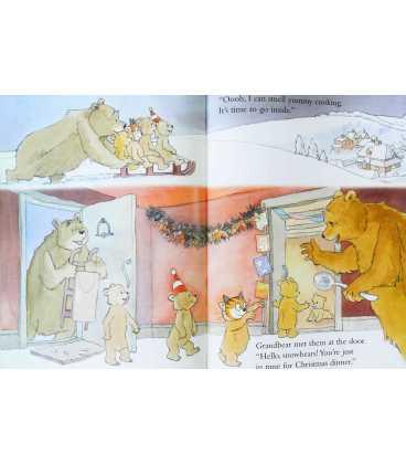 Baby Bear's Christmas Kiss Inside Page 2