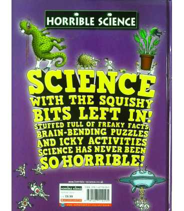 Horrible Science Annual 2010 Back Cover