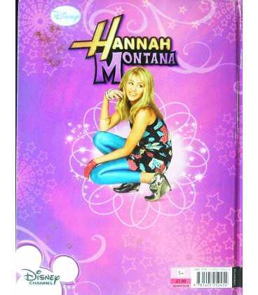 Hannah Montana Annual 2011 Back Cover