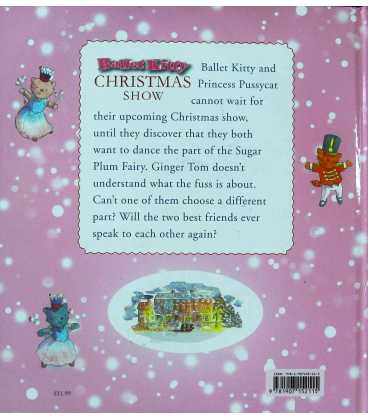 Ballet Kitty's Christmas Show Back Cover