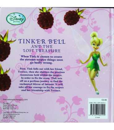 Tinker Bell and the Lost Treasure Back Cover