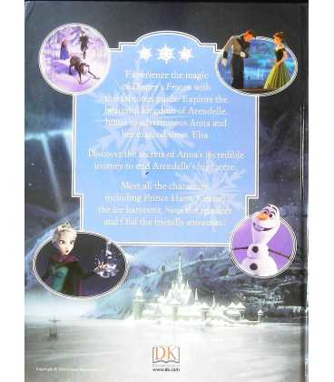 Disney Frozen: The Essential Guide Back Cover