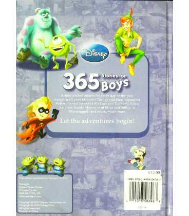 365 Stories for Boys Back Cover