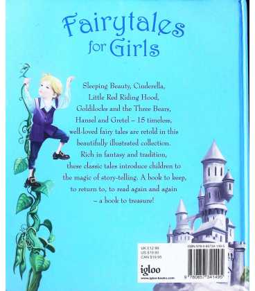 Fairytales for Girls Back Cover