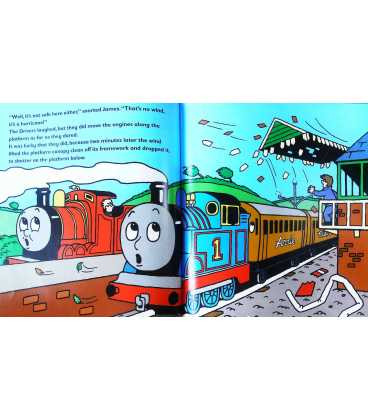Thomas and the Hurricane (Thomas & Friends) Inside Page 1