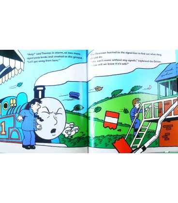 Thomas and the Hurricane (Thomas & Friends) Inside Page 2