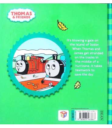 Thomas and the Hurricane (Thomas & Friends) Back Cover