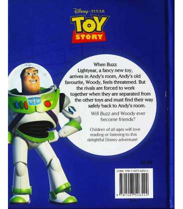 Disney Magical Story: Toy Story Back Cover