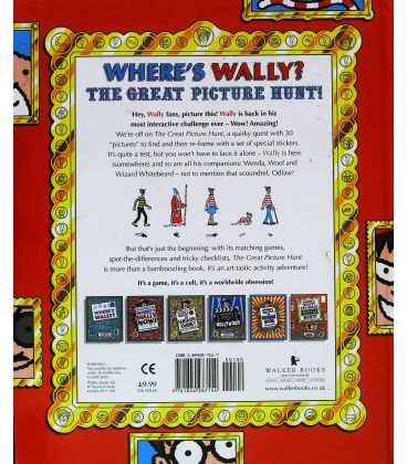 Where's Wally? The Great Picture Hunt Back Cover