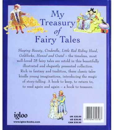 My Treasury of Fairy Tales Back Cover