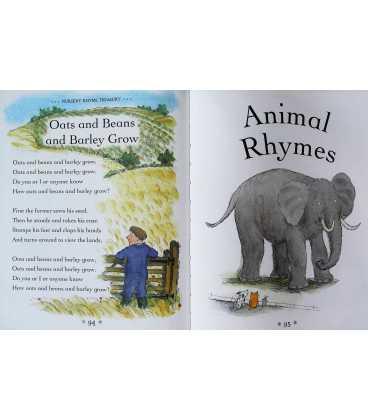 Nursery Rhyme Treasury Inside Page 1