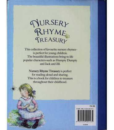 Nursery Rhyme Treasury Back Cover