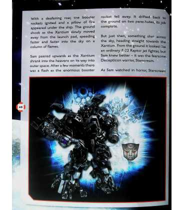 Transformers Dark of the Moon Annual 2012 Inside Page 2
