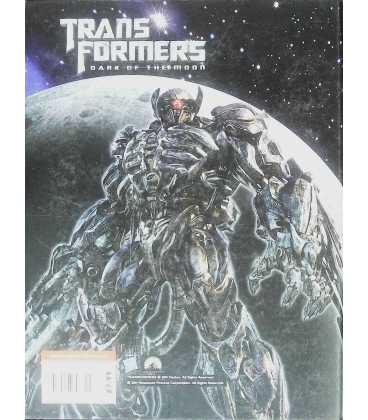 Transformers Dark of the Moon Annual 2012 Back Cover
