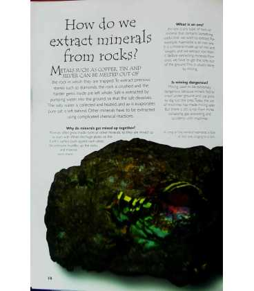 Rocks and Minerals Inside Page 1