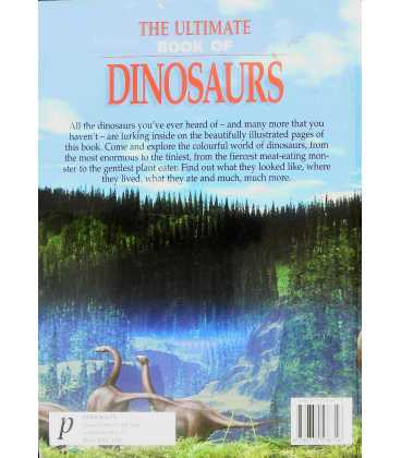 Ultimate Book of Dinosaurs Back Cover