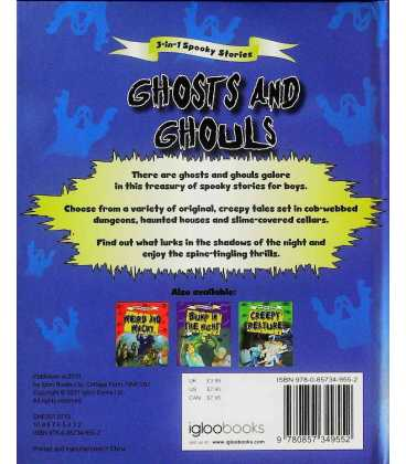 Ghosts and Ghouls Back Cover