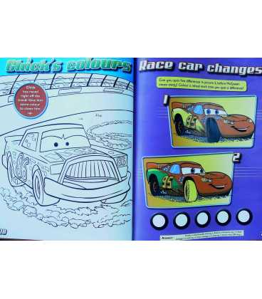 The World of Cars Annual 2009 Inside Page 2