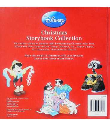 Disney Christmas Storybook Collection Back Cover